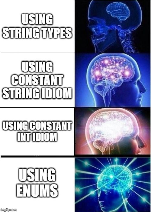 Enums - one of the underrated features of Java
